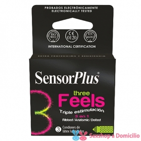 Preservativo Sensor Plus Three Feels