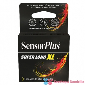 Preservativo Sensor Plus Super Long XL
