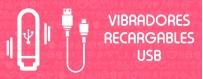 Vibradores Recargables USB ❤